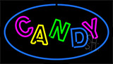 Candy Blue Neon Sign
