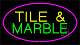 Tile And Marble Purple Neon Sign
