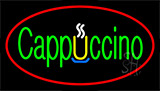 Cappuccino Red Neon Sign