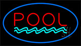 Pool Blue Neon Sign