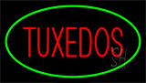 Tuxedos Red Green Neon Sign