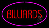 Red Billiards Purple Neon Sign