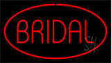 Bridal Block Red Neon Sign