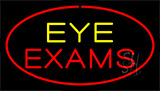 Eye Exams Red Neon Sign