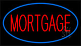 Mortgage Blue Neon Sign