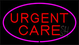 Urgent Care Pink Neon Sign