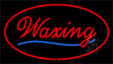 Waxing Red Neon Sign