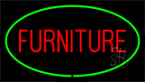 Furniture Green Neon Sign