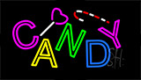 Multi Colored Candy Neon Sign