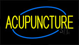 Yellow Acupuncture Neon Sign