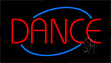 Red Dance Neon Sign