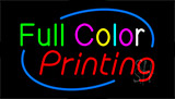 Full Color Printing Neon Sign