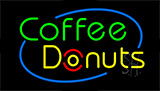 Coffee Donuts Neon Sign