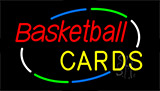 Basketball Cards Neon Sign