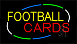 Football Cards Neon Sign
