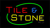 Tile And Stone Neon Sign