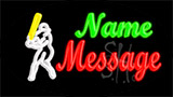 Custom Baseballer Neon Sign