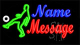 Custom Football Player Neon Sign