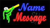Custom Shooter Neon Sign