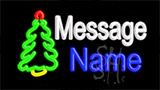 Custom Christmas Tree Neon Sign