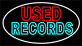 Used Records Neon Sign
