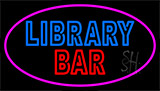 Double Stroke Library Bar Neon Sign