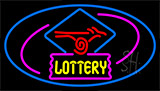 Lottery Logo Neon Sign