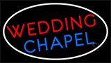 Wedding Chapel Block Neon Sign