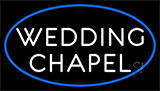 White Wedding Chapel Neon Sign