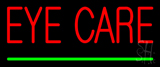 Red Eye Care Green Line Neon Sign