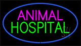 Animal Hospital Blue LED Neon Sign