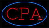 Cpa Blue Neon Sign