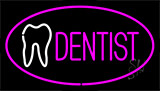 Pink Dentist Neon Sign