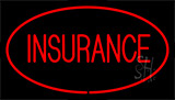 Red Insurance Red Neon Sign