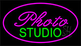 Photo Studio Purple Neon Sign