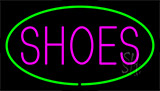 Shoes Green Neon Sign