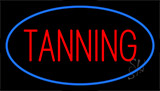 Red Tanning Neon Sign