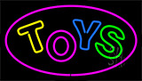 Toys Purple Neon Sign
