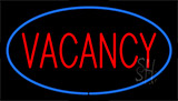 Vacancy Blue LED Neon Sign