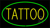 Tattoo Green LED Neon Sign