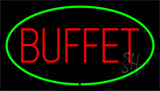 Buffet Green LED Neon Sign