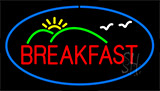 Breakfast With Scenery LED Neon Sign