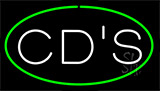 Cds Green LED Neon Sign