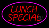 Lunch Special Pink LED Neon Sign