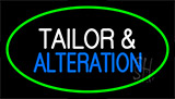 Tailor And Alteration Green Neon Sign