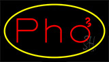 Pho Yellow LED Neon Sign