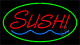 Sushi Green LED Neon Sign