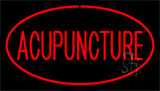Acupuncture Red Neon Sign