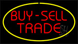 Buy Sell Trade Yellow Neon Sign