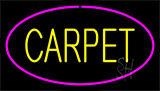 Yellow Carpet Pink Border Neon Sign